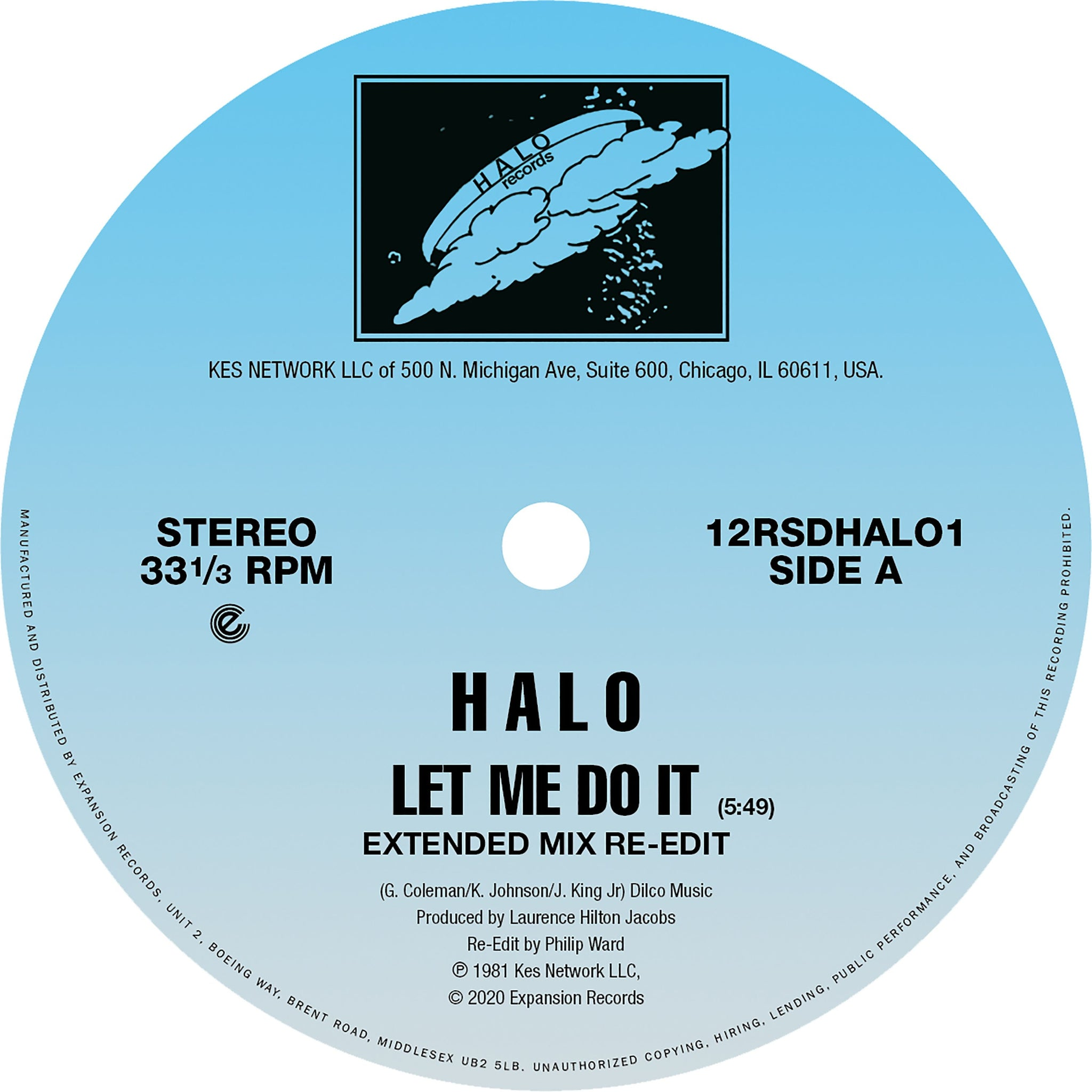 Halo - Let Me Do It / Life
