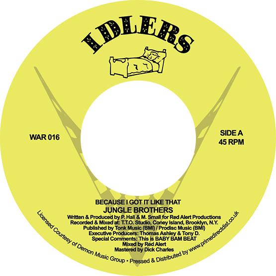 Jungle Brothers - Because I Got it Like That / I'll House You