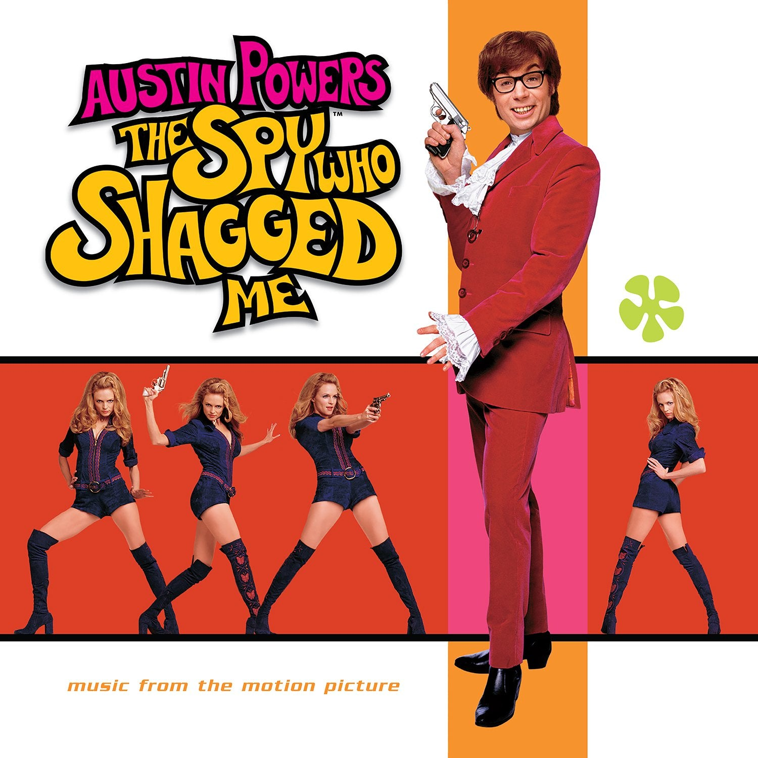 OST: Austin Powers: The Spy Who Shagged Me OST - Austin Powers: The Spy Who Shagged Me OST
