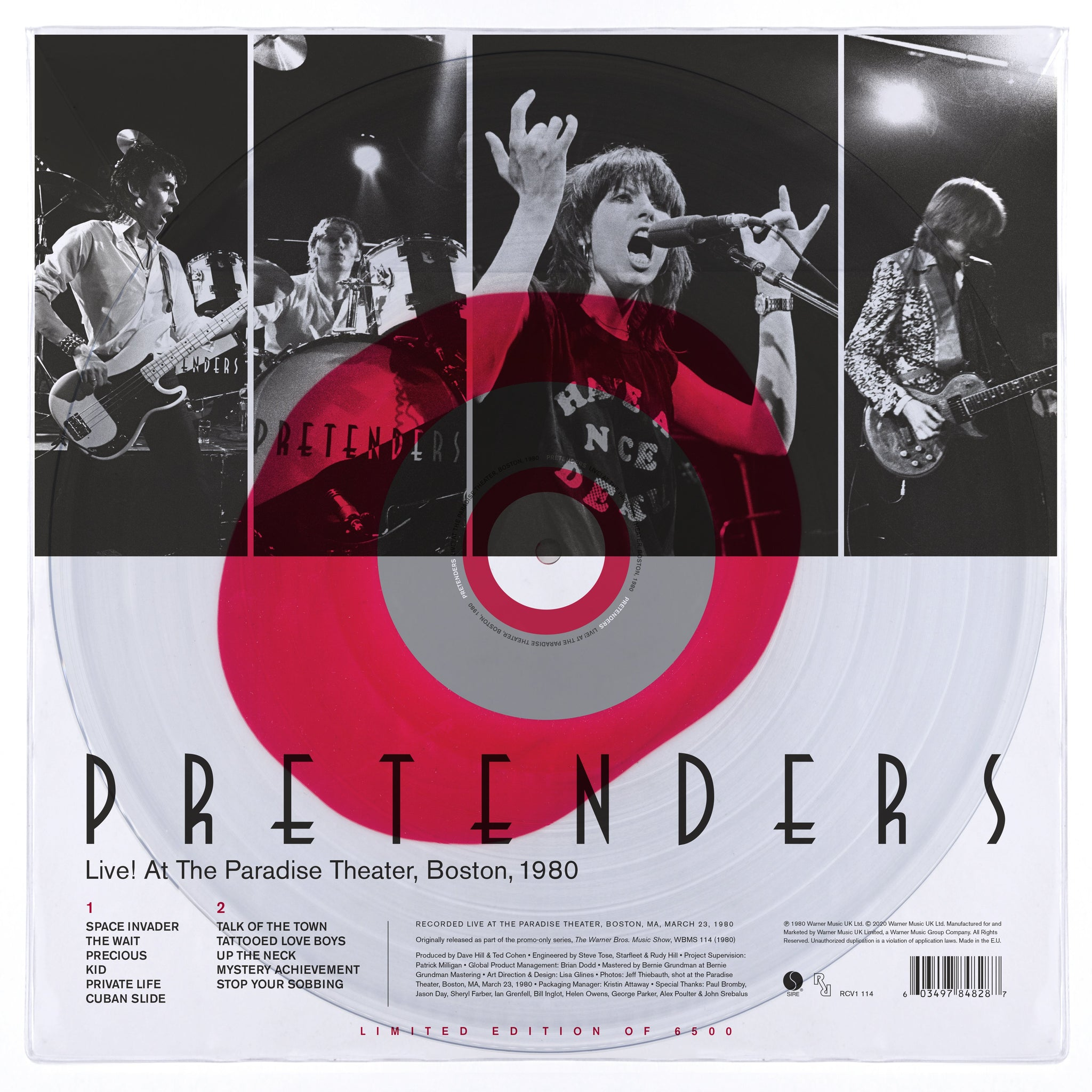 Pretenders - Live! At The Paradise Theater, Boston 1980