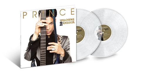 Prince - Welcome 2 America (2LP Black, 2LP Clear & Boxset Versions)