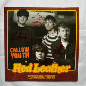 Callow Youth - In Red Leather (CD Single)