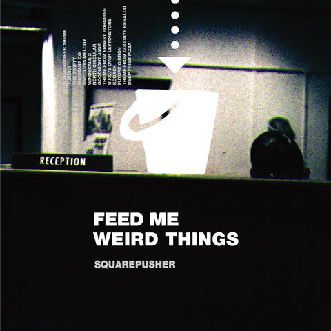 "Squarepusher - Feed Me Weird Things (Special 25th Anniversary Edition 2LP Clear Vinyl + 10"")"