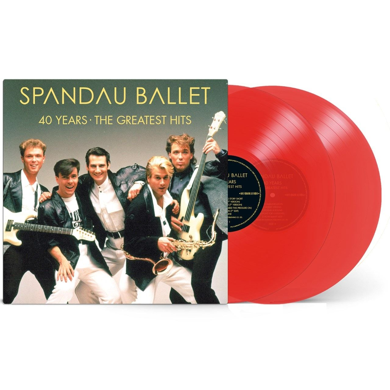 Spandau Ballet - 40 Years The Greatest Hits (2LP Red Vinyl)