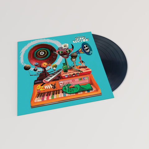 Gorillaz - Song Machine: Season One - Strange Timez (Black Vinyl)