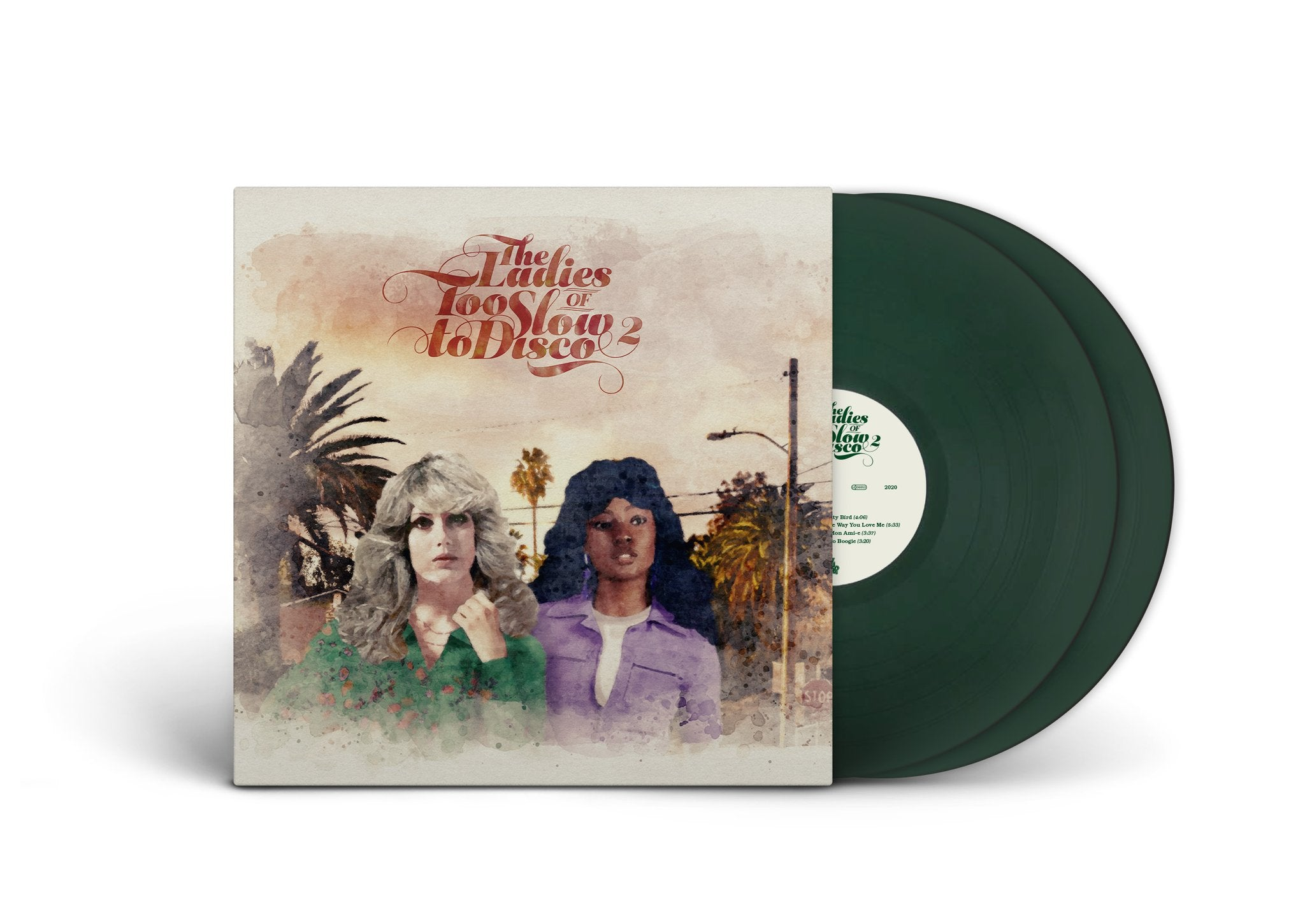 Various Artists - The Ladies Too Slow To Disco 2 (2LP Gatefold Sleeve Dark Green Vinyl + DL Code)