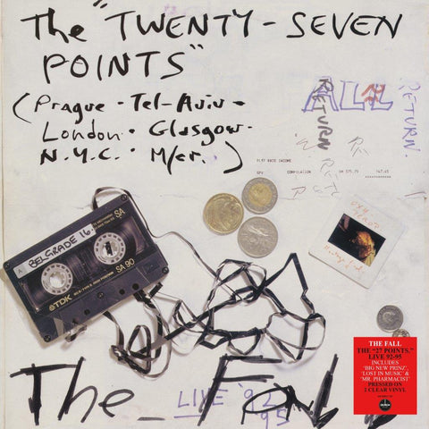 The Fall - The Twenty Seven Points Live 92-95 (Clear Vinyl)