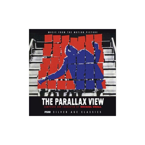 OST: The Parallax View - Michael Small (2LP Gatefold Sleeve Red Vinyl)