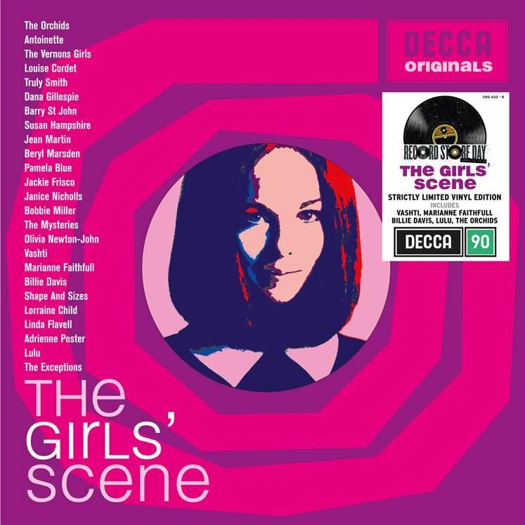 Various Artists - The Girls Scene (2LP)