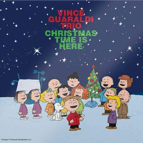 "Vince Guaraldi Trio - Christmas Time Is Here (7"")"