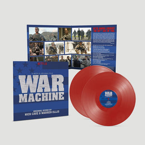 OST: War Machine - Original Score By Nick Cave & Warren Ellis (2LP Red Vinyl)