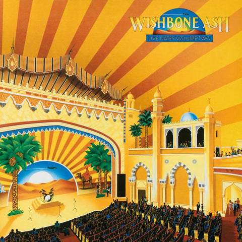 Wishbone Ash - Live Dates II (Yellow & Clear Blue Vinyl)