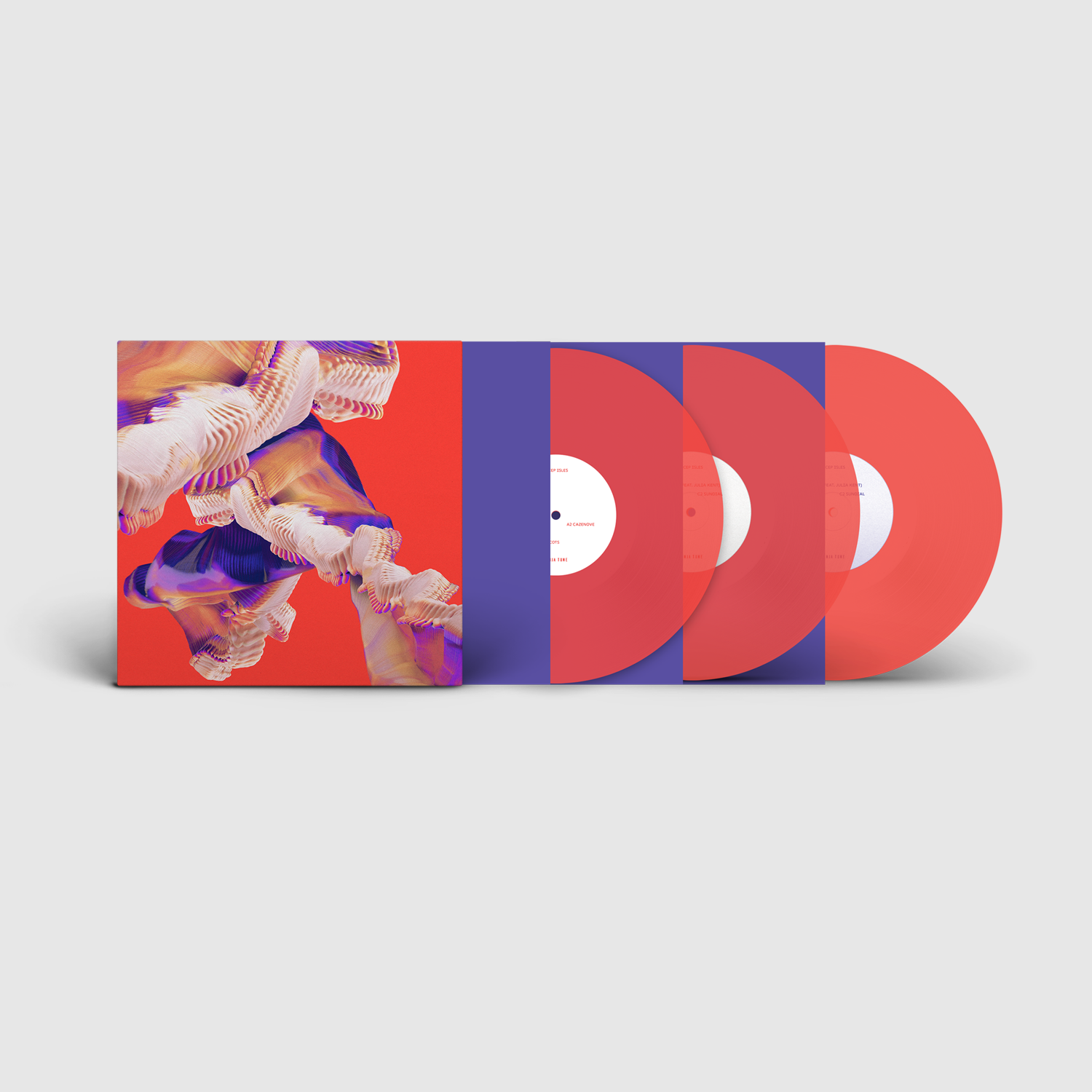 Bicep - Isles (3LP Deluxe Coloured Vinyl)
