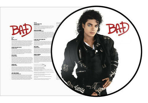 Michael Jackson - Bad (LP Picture Disc)
