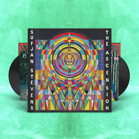 Sufjan Stevens - The Ascension (Clear and Black Vinyl)