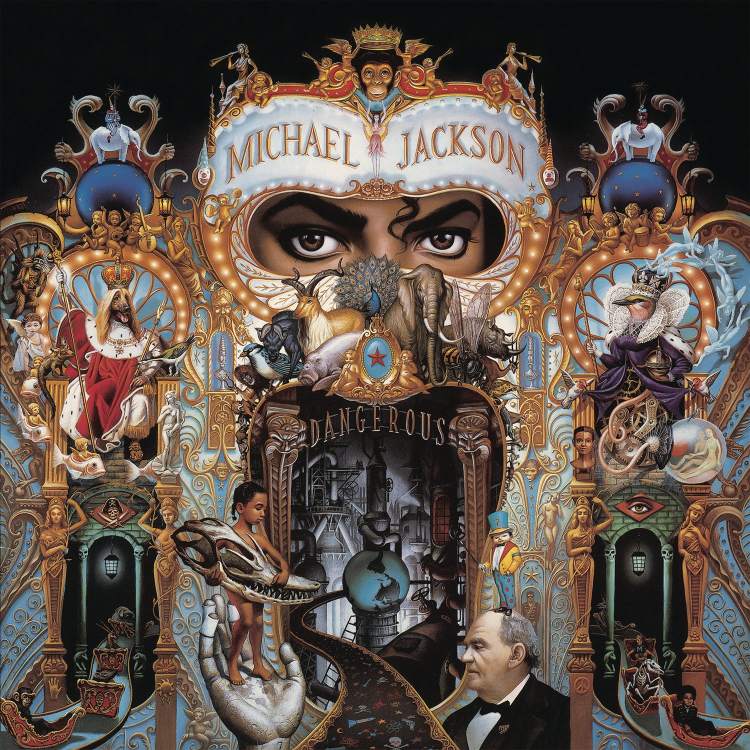 Michael Jackson - Dangerous (2LP Gatefold Sleeve)