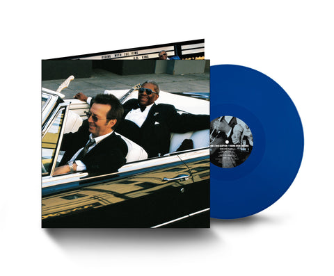 Eric Clapton - Riding With The King (20th Anniversary Edition - Indie Exclusive 2LP Blue Vinyl)