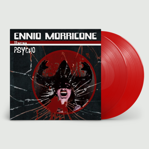 Ennio Morricone - Psycho (2LP Limited Edition Translucent Red In Deluxe Gatefold Sleeve)