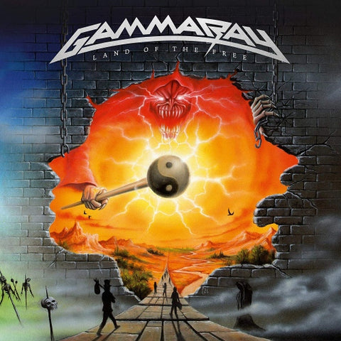 Gamma Ray - Land Of The Free (Limited 2LP White Vinyl)