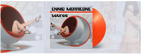 Ennio Morricone - Lounge (2LP Limited Edition Orange Vinyl)