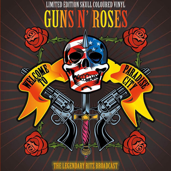 Guns N' Roses - Welcome To Paradise: The Legendary Broadcast From The Ritz NYC 02.02.1988 City (2LP Splatter Vinyl)