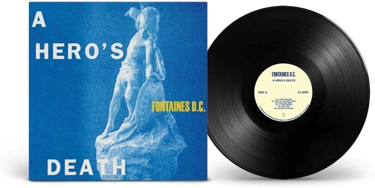 Fontaines DC - A Hero's Death (1LP Black)