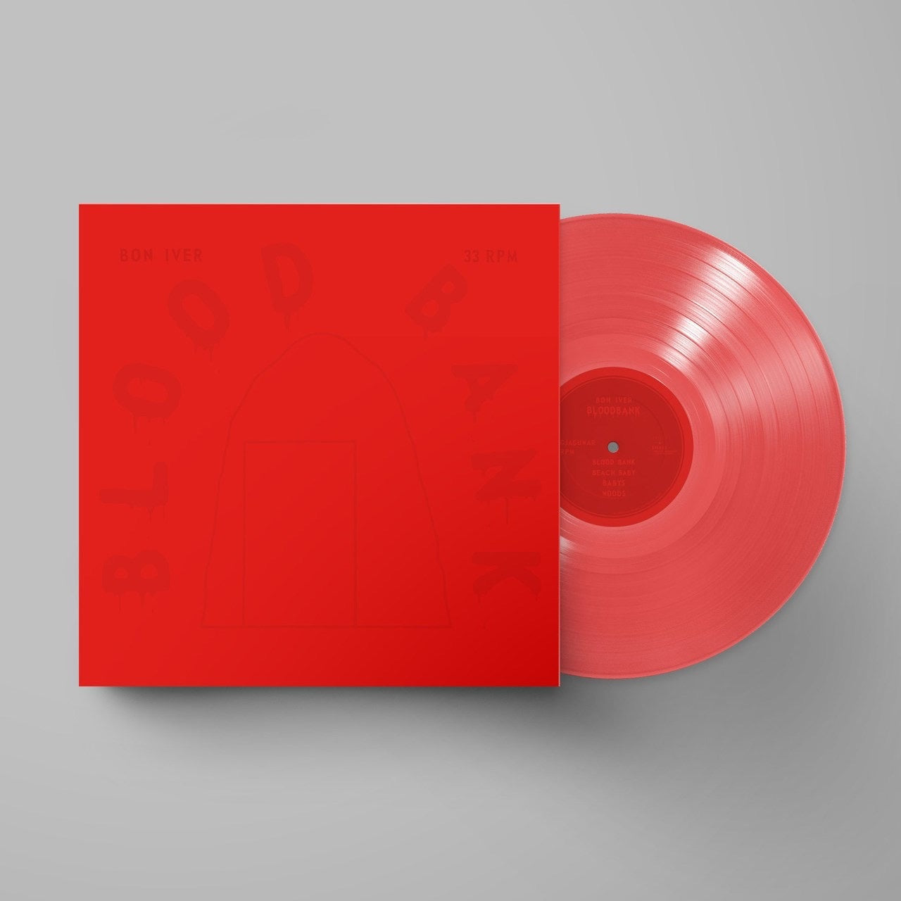 Bon Iver - Blood Bank (Limited Anniversary Edition On Red Vinyl)