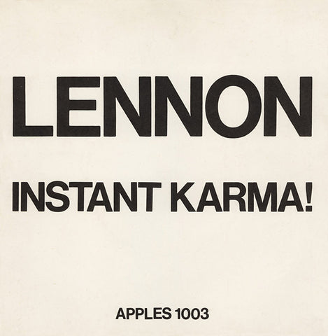 John Lennon - Instant Karma! (2020 Ultimate Mixes)