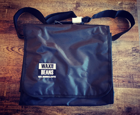 Wax and Beans Record Bag