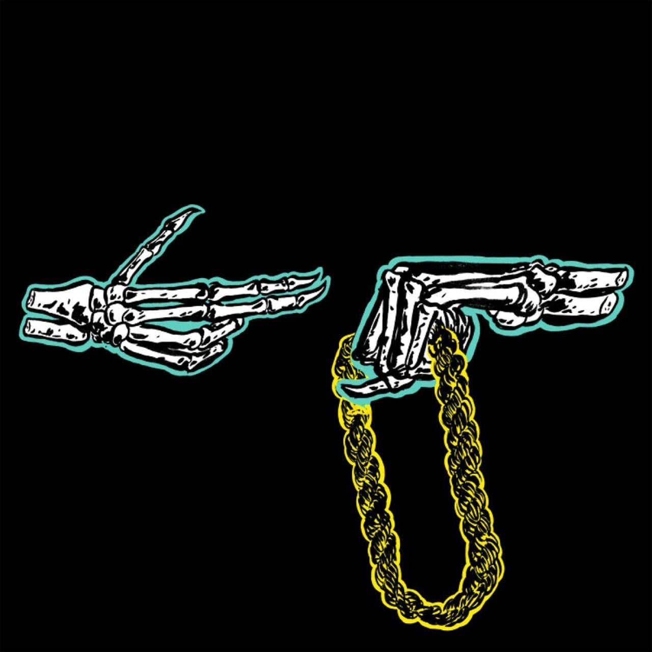 "Run The Jewels - Run The Jewels (Green Splattered Clear Vinyl - Includes Bonus 12"")"