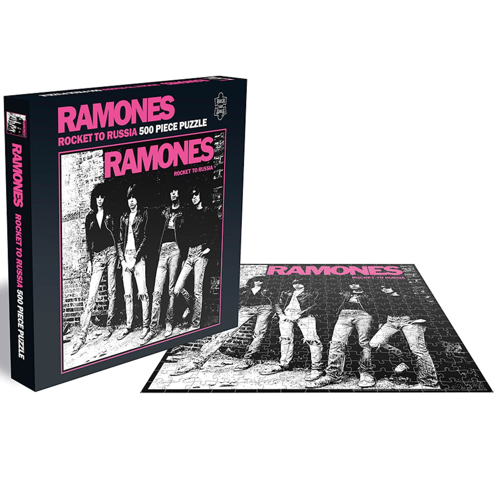 Ramones - Rocket To Russia - 500 Piece Jigsaw Puzzle