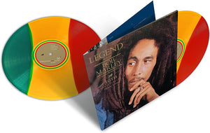 Bob Marley - Legend (The Best Of) 30th Anniversary Tri-Colour Vinyl (2LP)