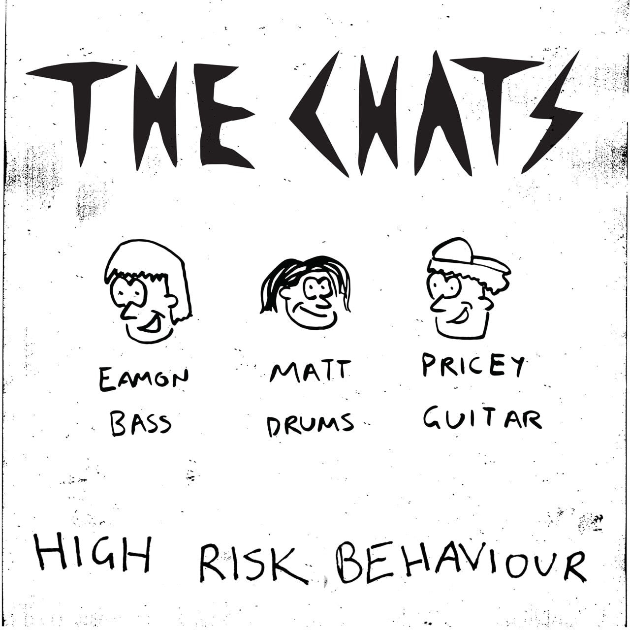 The Chats - High Risk Behaviour (Piss Coloured Vinyl)