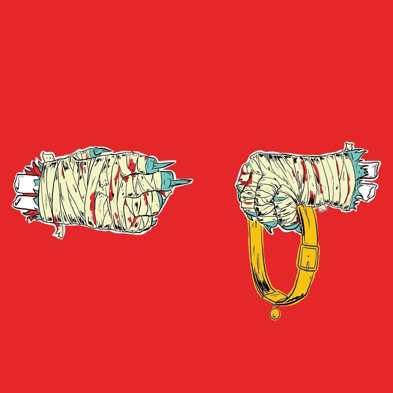 Run The Jewels - Run The Jewels 2 (Special Edition Teal Vinyl - 2LP Gatefold Sleeve)