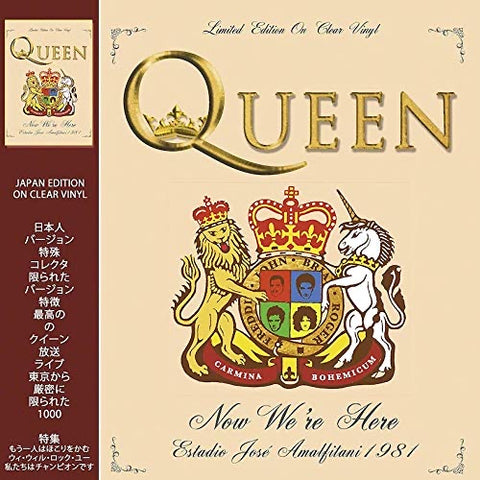 Queen - Now We're Here - Live 1981