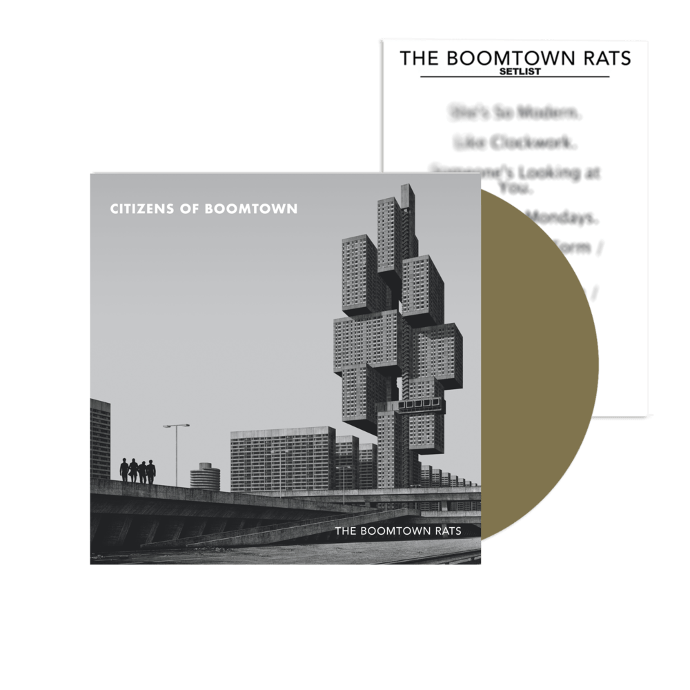 Boomtown Rats - Citizens Of Boomtown (Gold Vinyl)