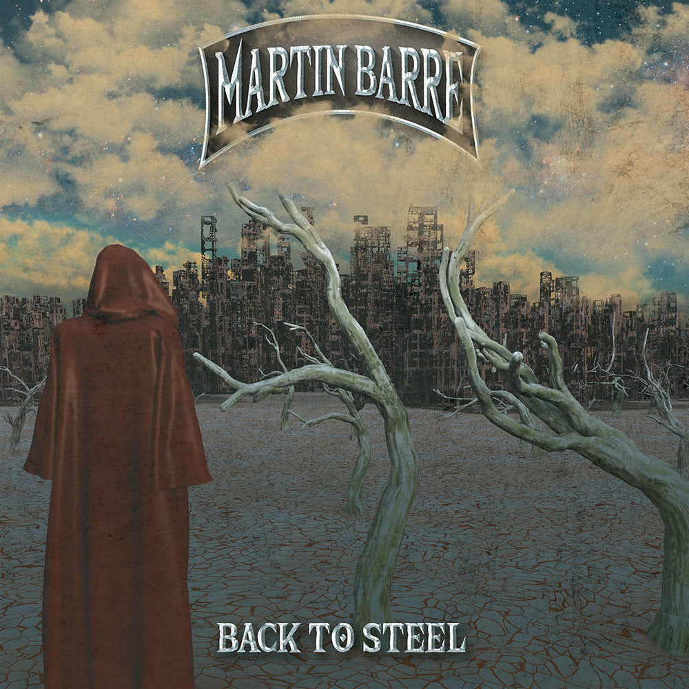 Martin Barre - Back To Steel (Limited Edition Clear Vinyl)