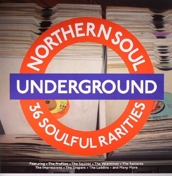 Northern Soul Underground - Various Artists (Red Vinyl)