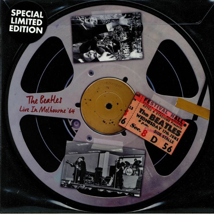 "The Beatles - Live In Melbourne 1964 (10"" Picture Disc)"