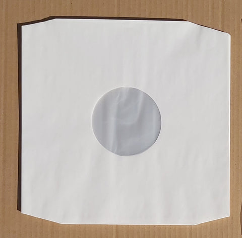 "12"" Poly Lined sleeve (White or Black)"