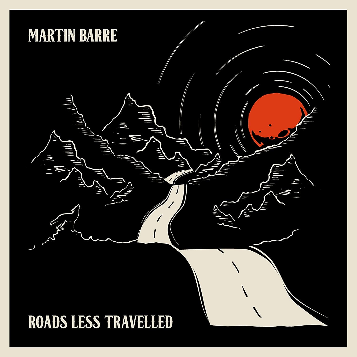 Martin Barre - Roads Less Travelled (Limited Edition Clear Vinyl)