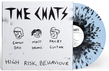 The Chats - High Risk Behaviour (Blue And Black Splatter Vinyl)