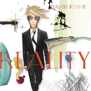 David Bowie - Reality (Tri-Fold Cover / Coloured Premium Vinyl Pressing on HQ-180 Vinyl)