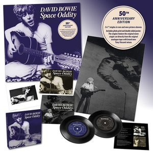 "David Bowie - Space Oddity: 50th Anniversary Edition (2 x 7"" Singles In Rare & New Picture Sleeves Boxset)"
