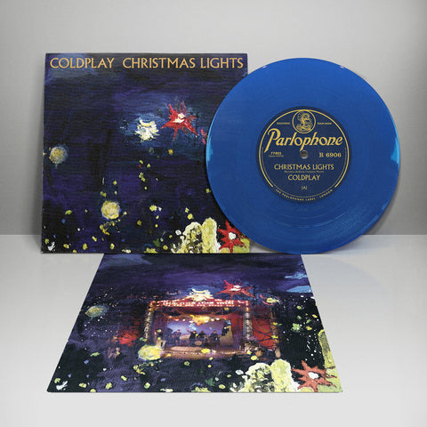 "Coldplay - Christmas Lights (Limited 7"" Blue Single)"
