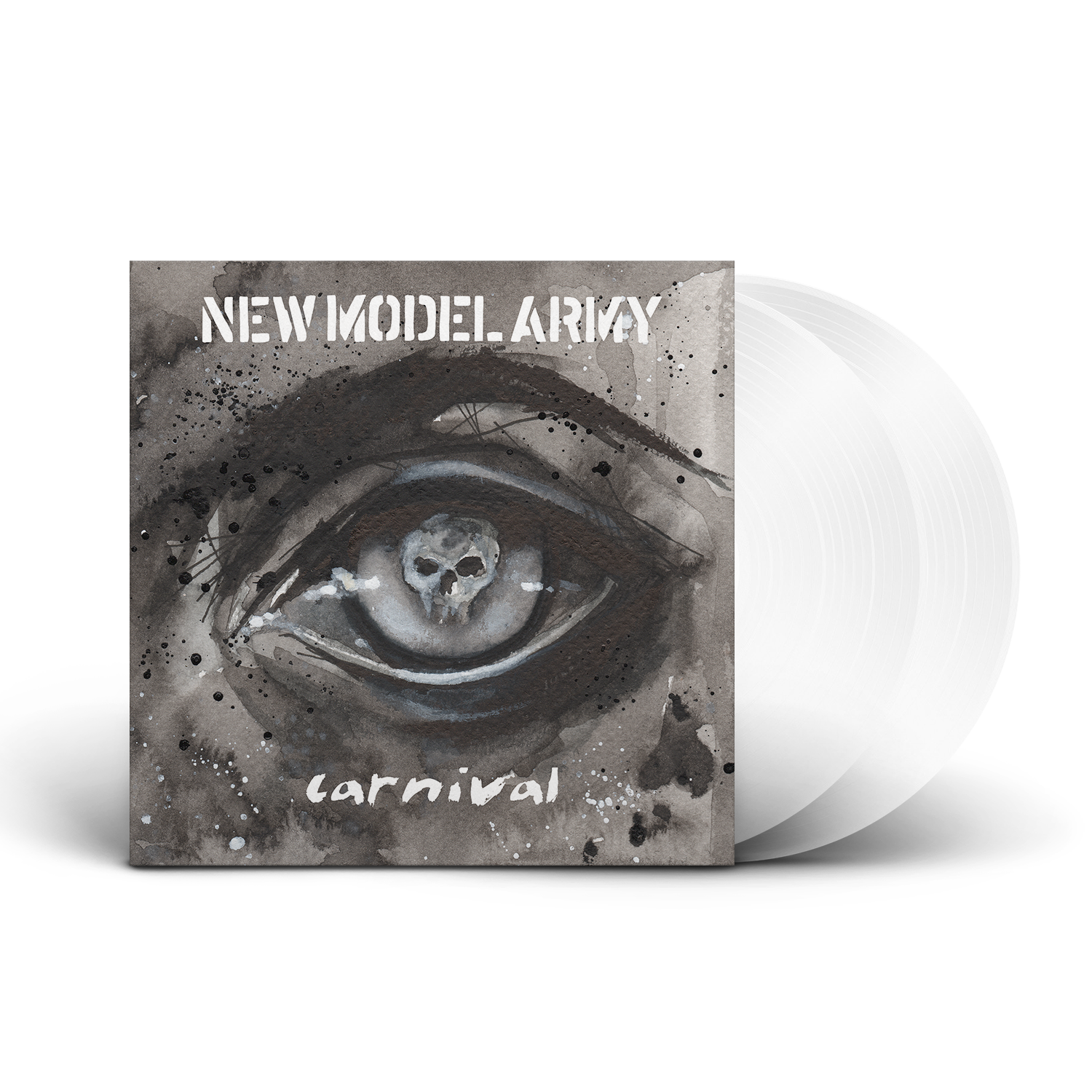 New Model Army - Carnival (2LP Gatefold Sleeve White Vinyl)