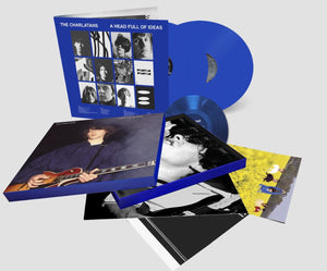 "The Charlatans - A Head Full Of Ideas (Transparent Blue 6LP Boxset (5LP+7"") + Signed Poster)"