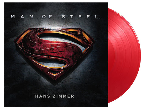 OST:Man Of Steel - Music By Hans Zimmer (2LP Red Vinyl)