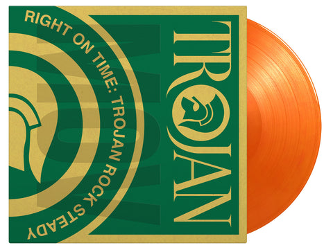 Various Artists: Right On Time - Trojan Rock Steady (2LP Orange Vinyl)