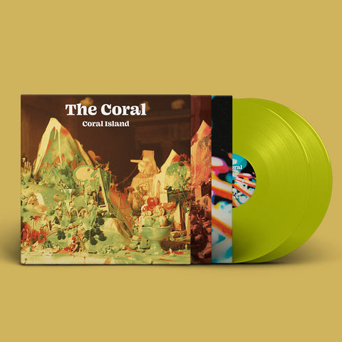 The Coral - Coral Island (2LP Translucent Lime Vinyl)